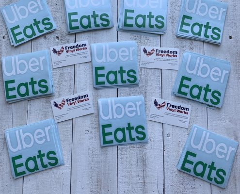 Restaurant Delivery Stickers